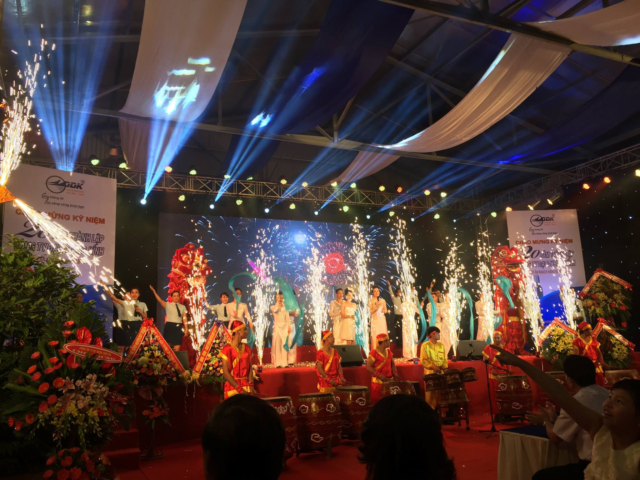 Celebration of 20 years of establishment of the company OCEAN GLASS