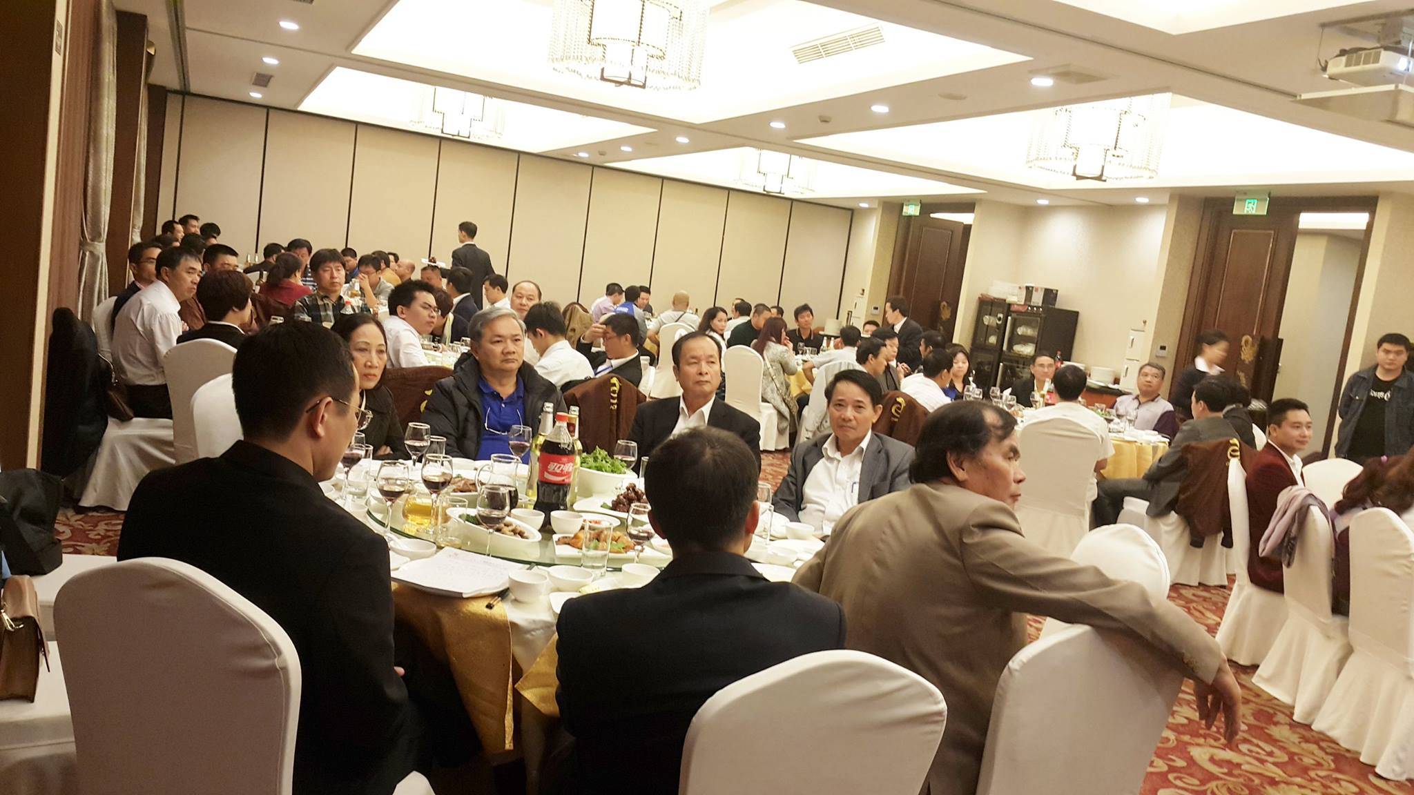PHU SON Corporation and FUSHAN organized annual Thankful Party in Shanghai, China