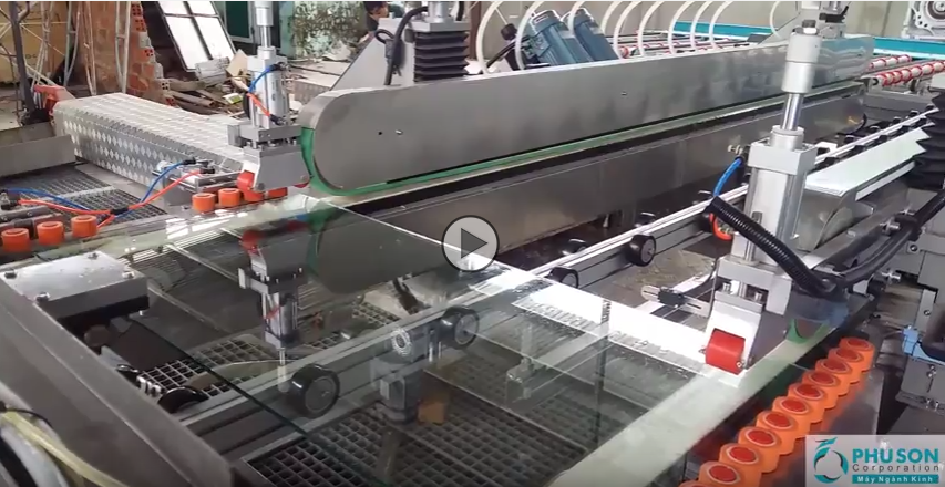 PHU SON Corporation – Tables loaded fully automatic HISENG glass measuremen size and thickness t of glass – Part 2