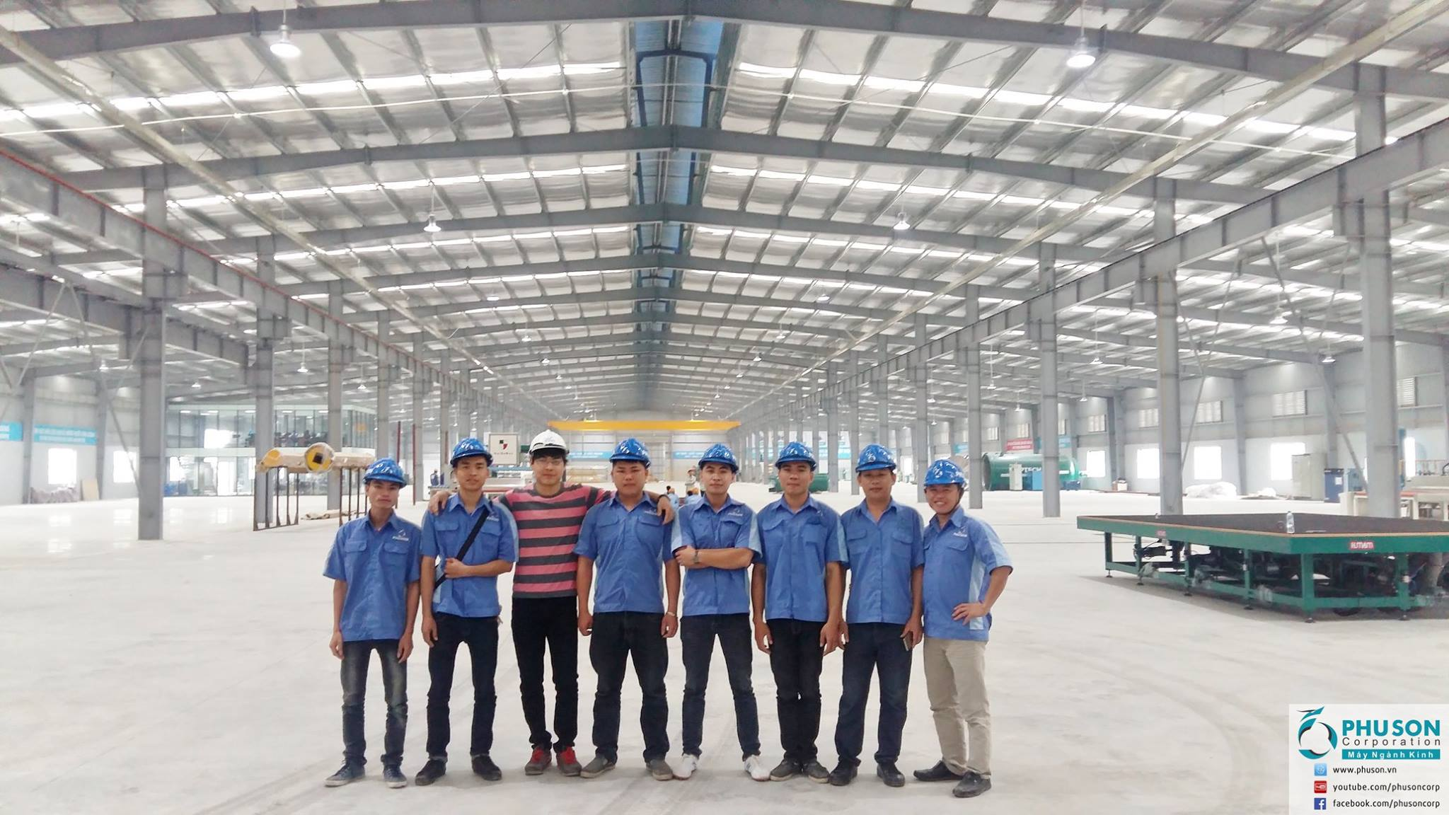 PHU SON Corporation HN  set up and transferred technology at HASKY – EURO A G.
