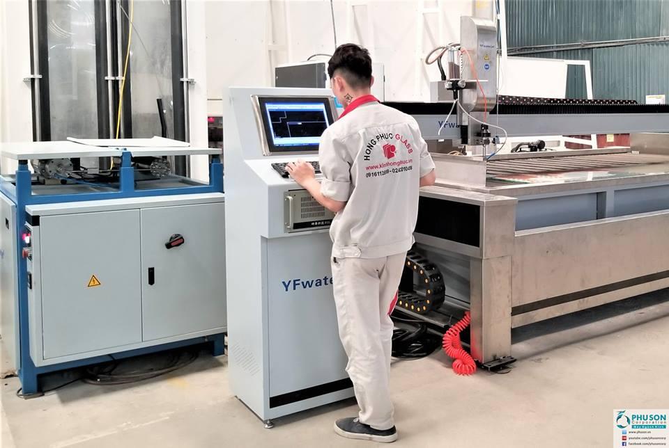 CNC cắt tia nước YF WATER JET - 04