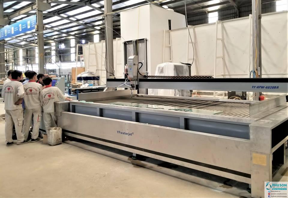 CNC cắt tia nước YF WATER JET - 19