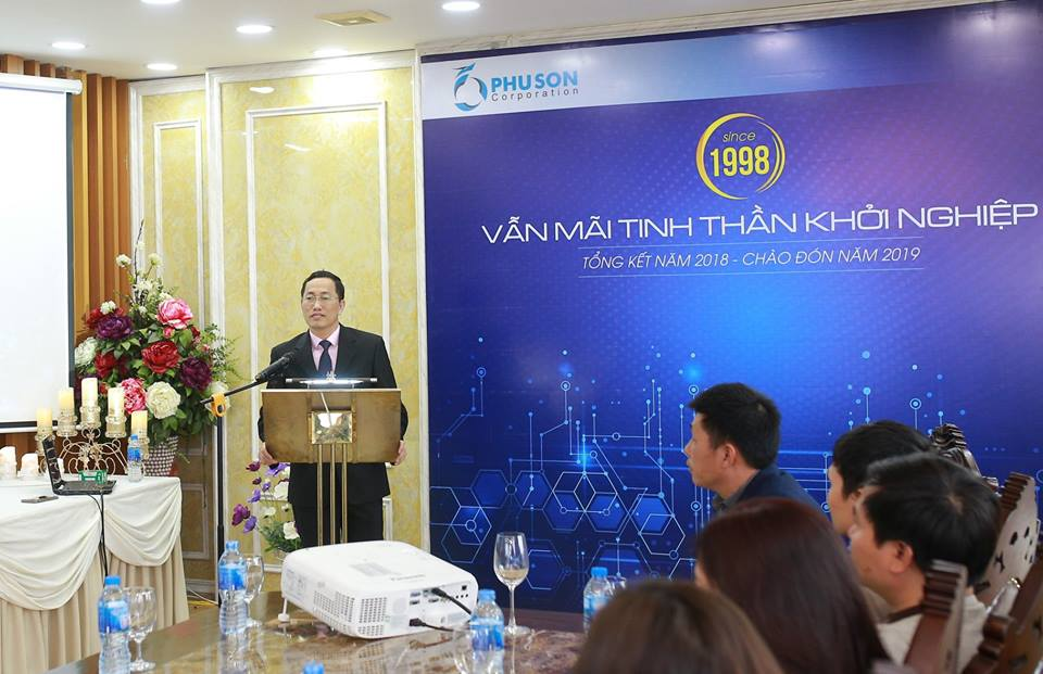 Conference to summarize 2018 and Welcome 2019 at PHU SON Corporation HN