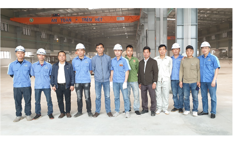 PHU SON Corporation launched an installation at RICCO GLASS 5/2020